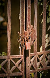 Rusty gate Royalty Free Stock Photography