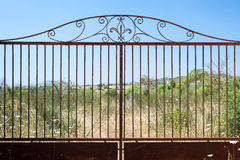 Rusty Gates Stock Photos