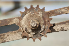 Rusty Gear Royalty Free Stock Images