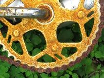 Rusty Gear 4 Stockfotos
