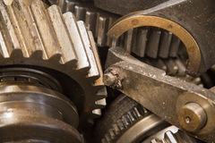 Rusty gear Royalty Free Stock Image