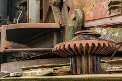Rusty Gear Cog Stock Photography