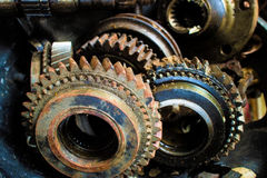 Rusty Gear Stock Photo
