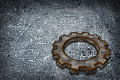 Rusty gear wheel Stock Photos
