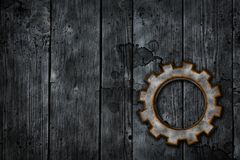 Rusty gear wheel Royalty Free Stock Photography