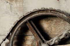 Rusty gear wheel Royalty Free Stock Images