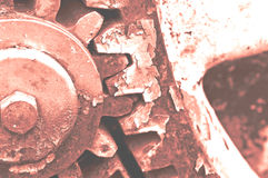 Rusty gear-wheel Stock Photography