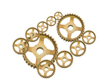 Rusty gears Royalty Free Stock Photos