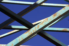 Rusty girders Royalty Free Stock Photos