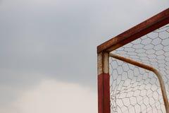 A rusty goal Stock Image