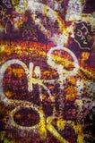 Rusty Graffiti Stock Images