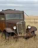 Rusty Grain Truck anziano Immagine Stock Libera da Diritti