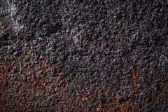 Rusty grained metal background. Grunge metal background - rusty metal sheet stock photo