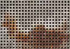 Rusty grate Stock Photography