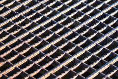 Rusty Grate Background Royalty Free Stock Photo