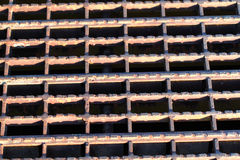 Rusty Grate Background Royalty Free Stock Photos