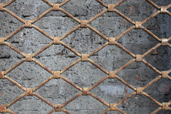 Rusty grating Royalty Free Stock Photography