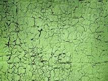 Rusty green painted texture Royalty Free Stock Images
