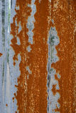Rusty Grey Zinc Stock Fotografie