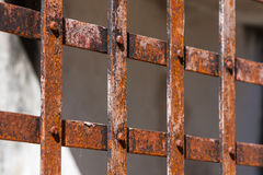 Rusty grid Stock Photos