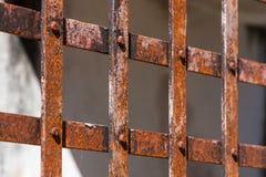 Rusty grid Stock Photos