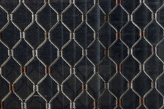 Rusty grid Stock Photography