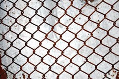 A Rusty grid structure background Royalty Free Stock Photography