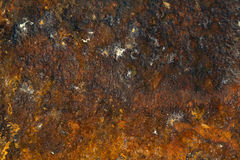 Rusty grunge background. Metal with rust Stock Photos
