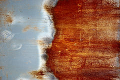 Rusty grunge iron Stock Images
