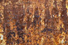 Rusty grunge metal background Stock Photos