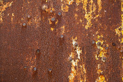 Rusty grunge metal background Stock Photo
