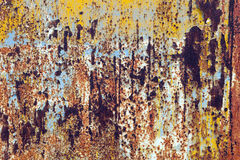 Rusty grunge metal background Royalty Free Stock Image