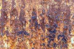 Rusty grunge metal background Royalty Free Stock Images