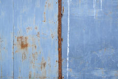 Rusty grunge metal wall detailed texture. Rusty scratched grunge metal wall detailed texture background Stock Photo