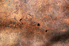 Rusty grunge red metal texture Stock Images