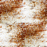 Rusty grunge seamless texture of iron with a place Royalty Free Stock Images