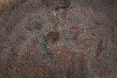 Rusty grunge stained iron texture Royalty Free Stock Image