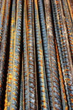 Rusty grunge steel rods Royalty Free Stock Image