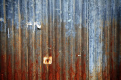 Rusty grunge Zinc texture Royalty Free Stock Images