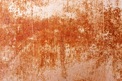 Rusty grungy texture. A nice grungy texture of a rusting steel panel Royalty Free Stock Image