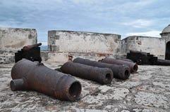 Rusty Guns anziano immagini stock libere da diritti
