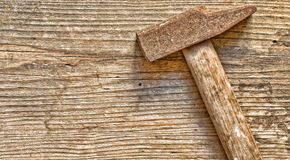 Rusty hammer Stock Images