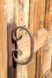 Rusty Handle Stock Photography