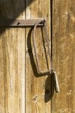 Rusty handsaw Royalty Free Stock Photography