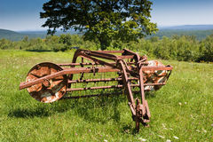 Rusty Hay Rake Stock Images