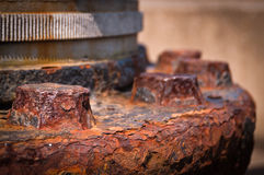 Rusty Heavy Machinery Royalty Free Stock Photos