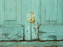 Rusty hinge Royalty Free Stock Photography