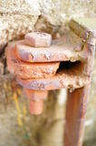 Rusty hinge Royalty Free Stock Image