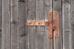 Rusty hinge Royalty Free Stock Image