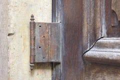 Rusty hinge Stock Photography